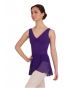 Capezio Wrap Skirt - Deep Purple