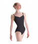 Pinch-Front Banded Camisole Leotard CHILD